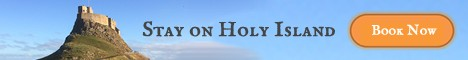 Stay on Holy Island. Book now!