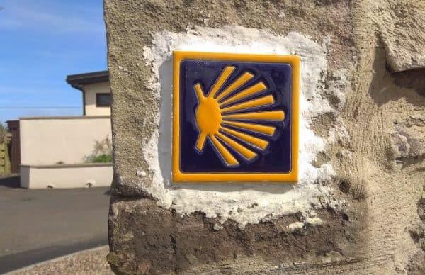 Holy Island Camino Shell