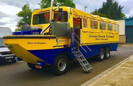Cuddy Duck Tours vehicle