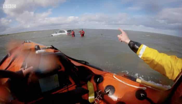 Holy Island Causeway Rescue
